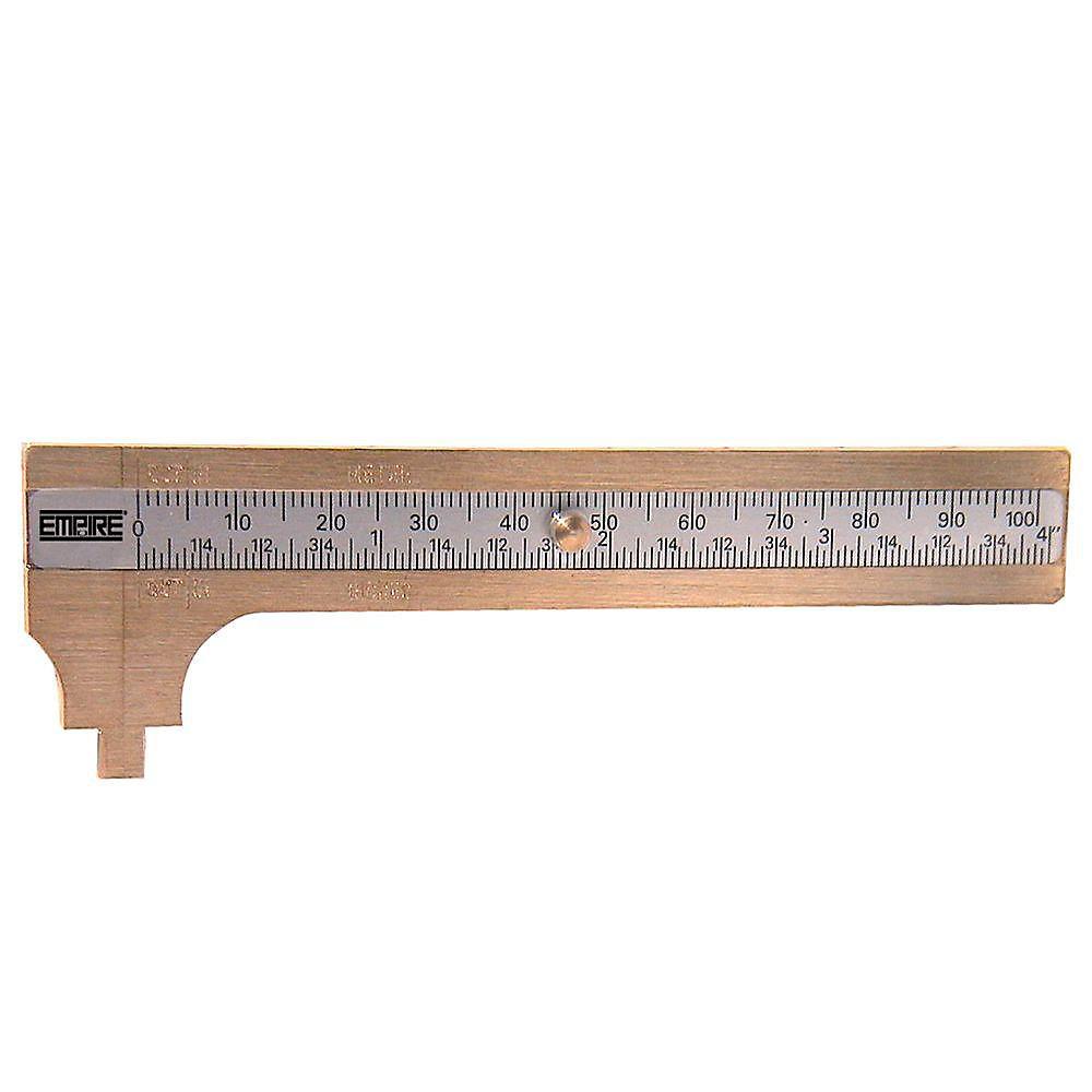 Pied à coulisse de poche de 10,2 cm (4 po)