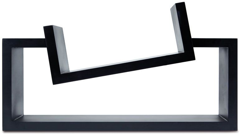 Slant Wall Shelf, 11 by 20-Inch, Black FN01160-3INT Canada Discount