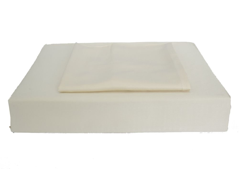 310TC Bamboo Solid Duvet Cover Set, Beige, Double