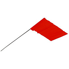 Red Stake Flags 100Pk
