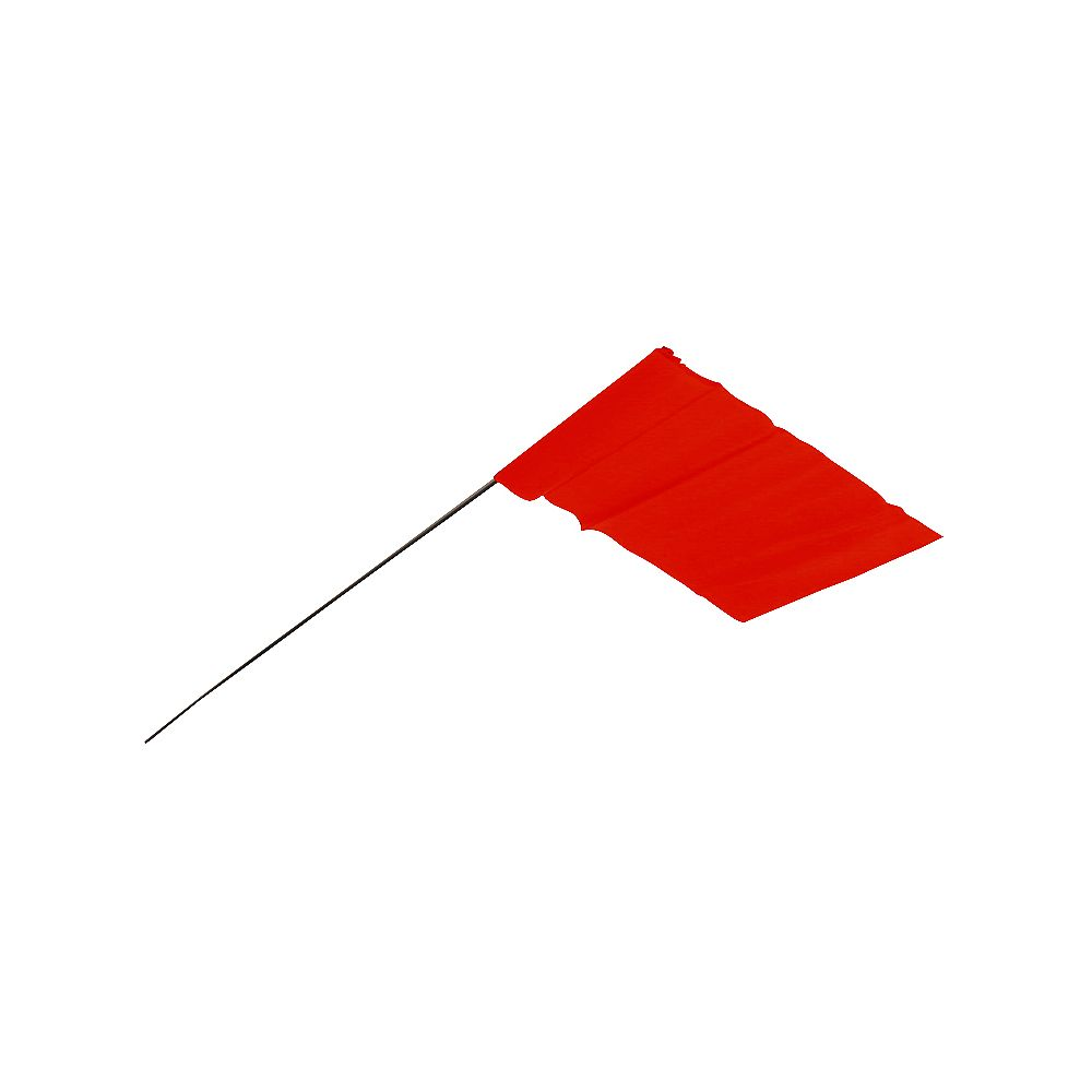 Empire Red Stake Flags 100Pk