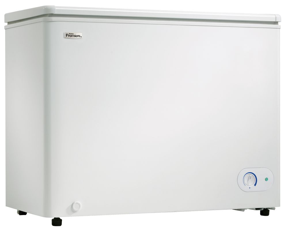 7.2 Cu. Ft. Manual Defrost Chest Freezer in White