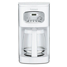12-Cup Programmable Coffeemaker-White