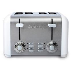 Cuisinart 4-Slice Compact Toaster - White Stainless