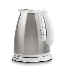 Cordless Electric Jug Kettle - Stainless White