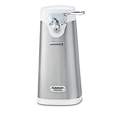 Deluxe Stainless Can Opener- White