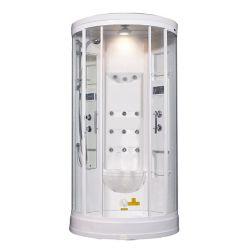 Aston 40 po x 40 po x 88 dans. Vapeur Enclosure Kit de douche avec Jets de corps 12 en blanc