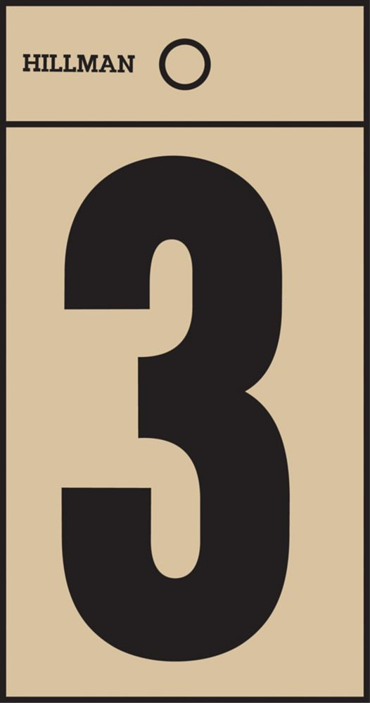 2 Inch Black & Gold Mylar Sticker 3