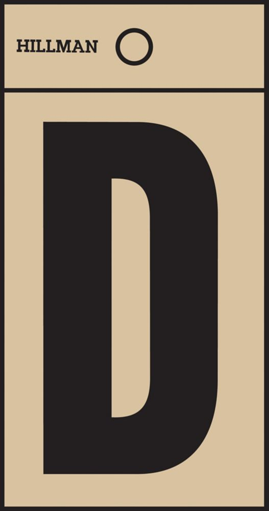 2 Inch Black & Gold Mylar Sticker D