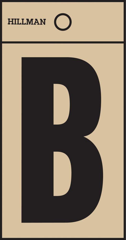 2 Inch Black & Gold Mylar Sticker B