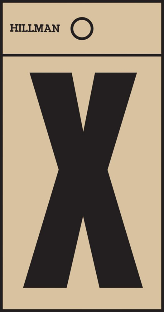 2 Inch Black & Gold Mylar Sticker X