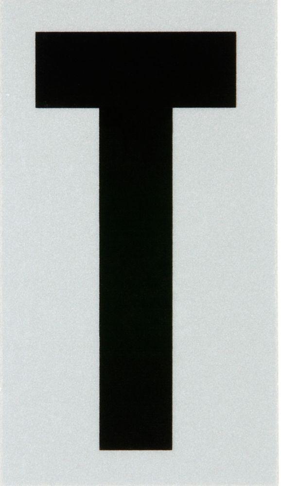 Hillman 3 Inch Black & Silver Reflec Mylar T