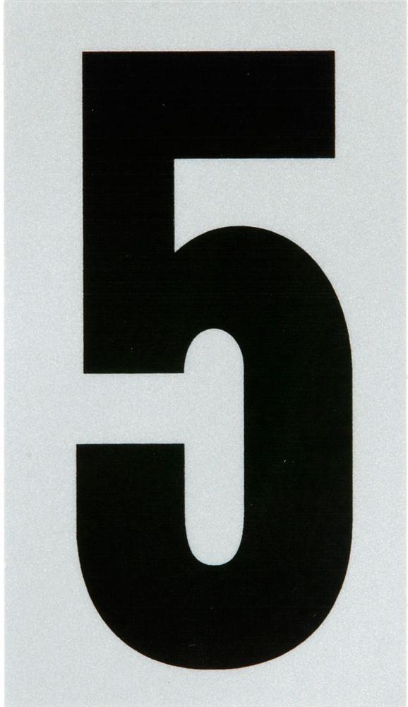 3 Inch Black & Silver Reflec Mylar 5