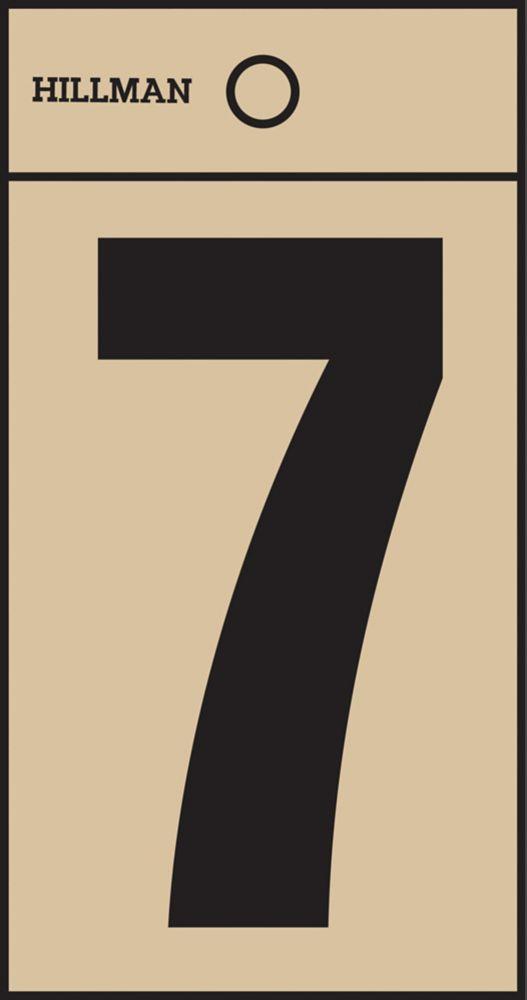 2 Inch Black & Gold Mylar Sticker 7