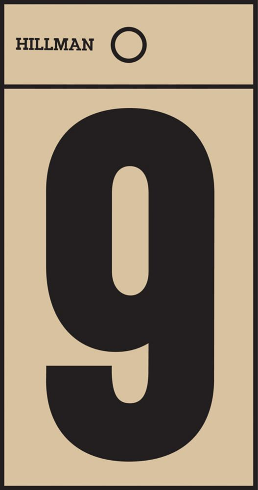 2 Inch Black & Gold Mylar Sticker 9