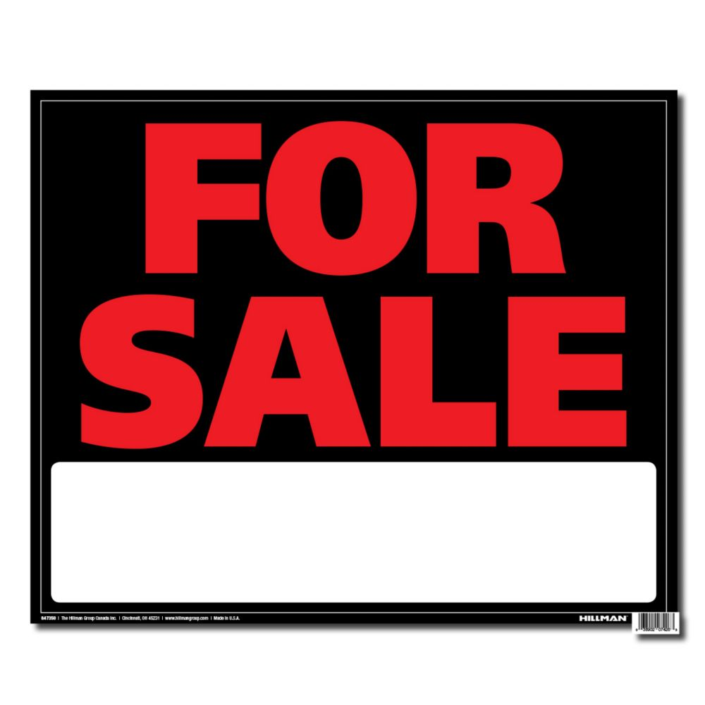 19 X 24 Jumbo Sign - For Sale