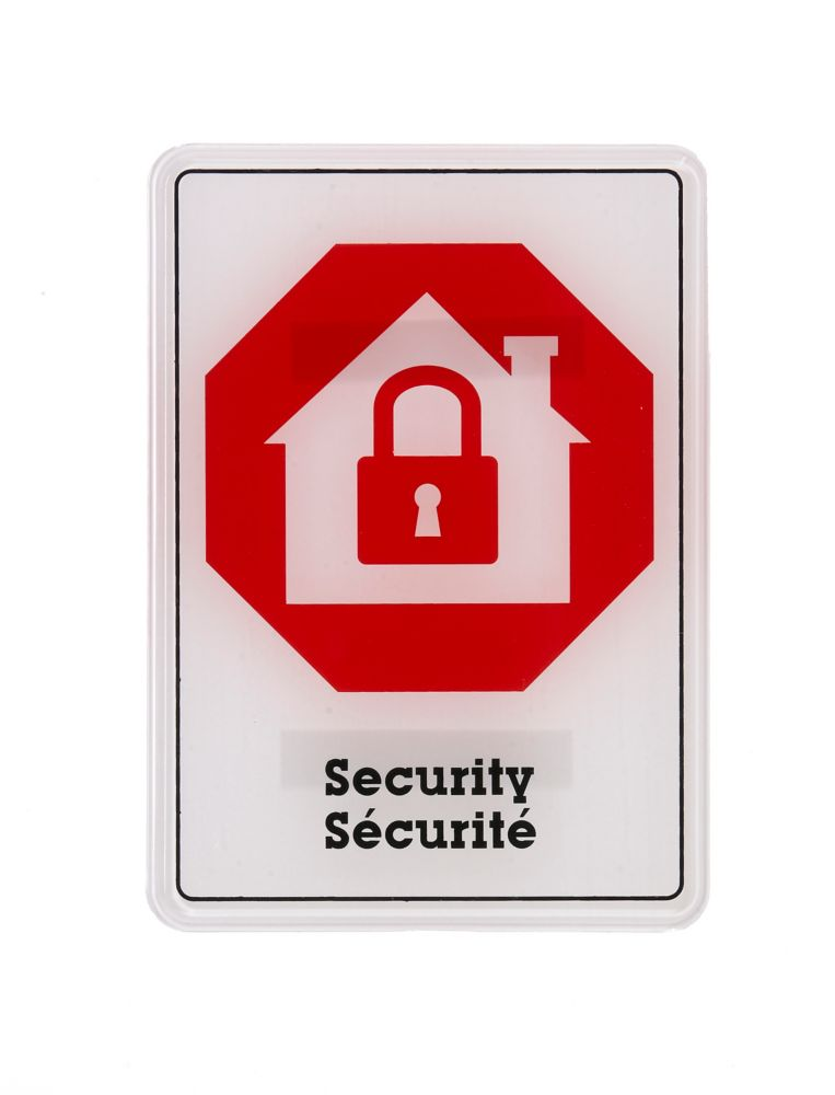 5x7 Sign - Internat Security