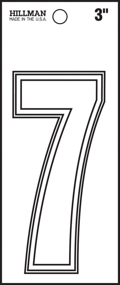 3 BLANC VINYL 7