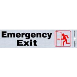 Hillman 2 X 8 Sign - Emergency Exit