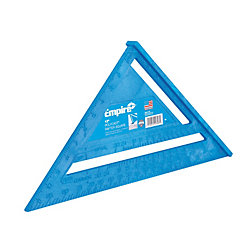12 in. Polycast Rafter Square