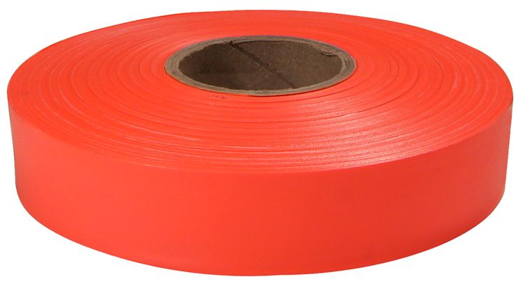 600' Orange Flagging Tape