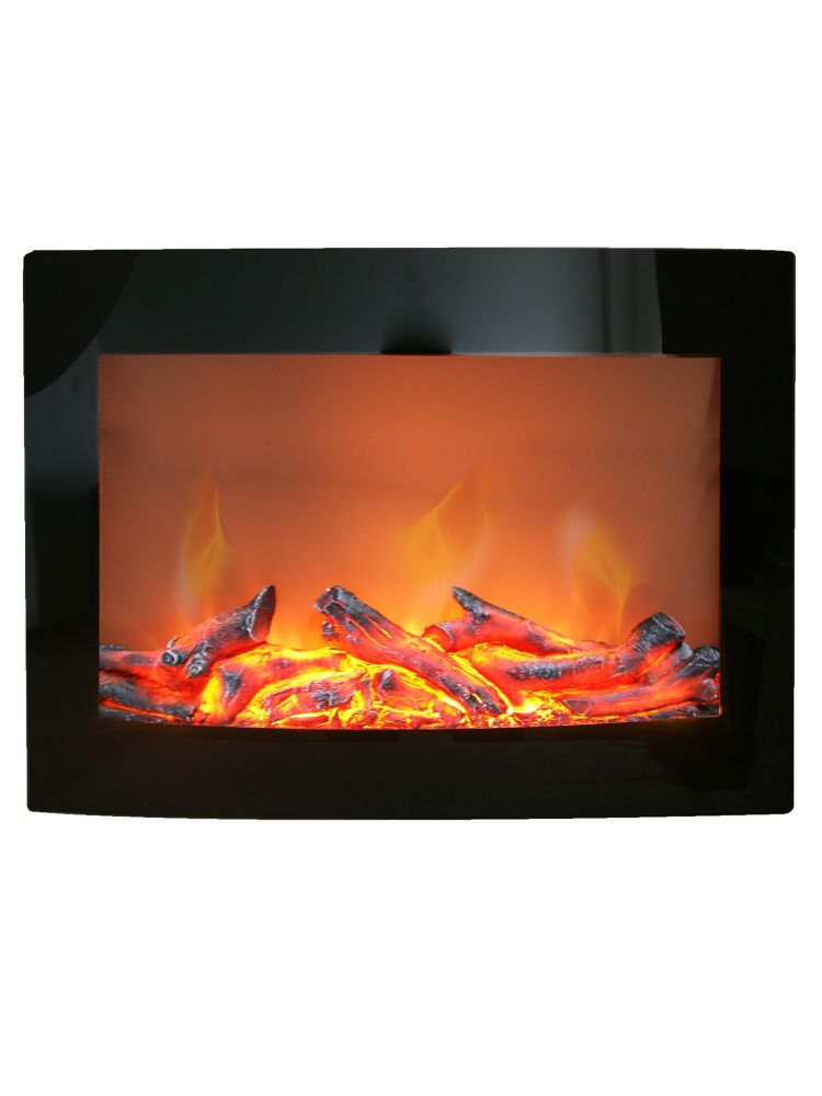 Fireplace tv stands the home depot canada - Space saving corner electric fireplace providing warmth for your small space ...