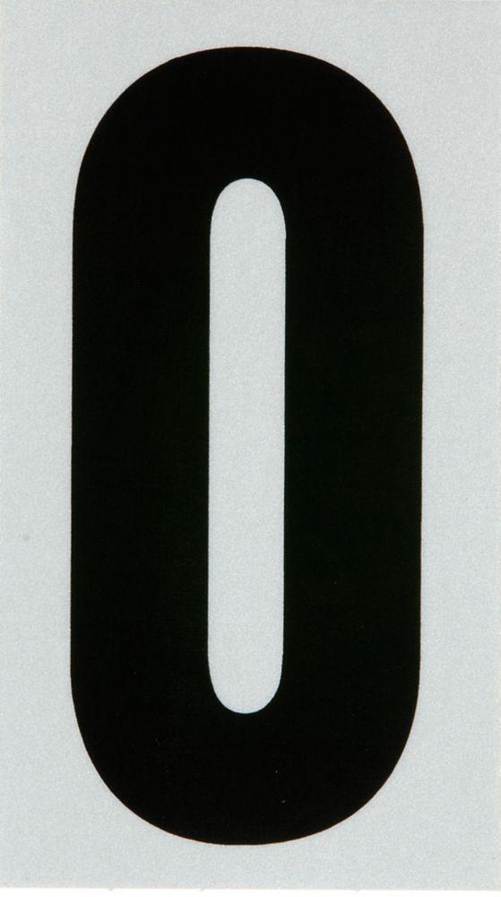 3 Inch Black & Silver Reflec Mylar 0