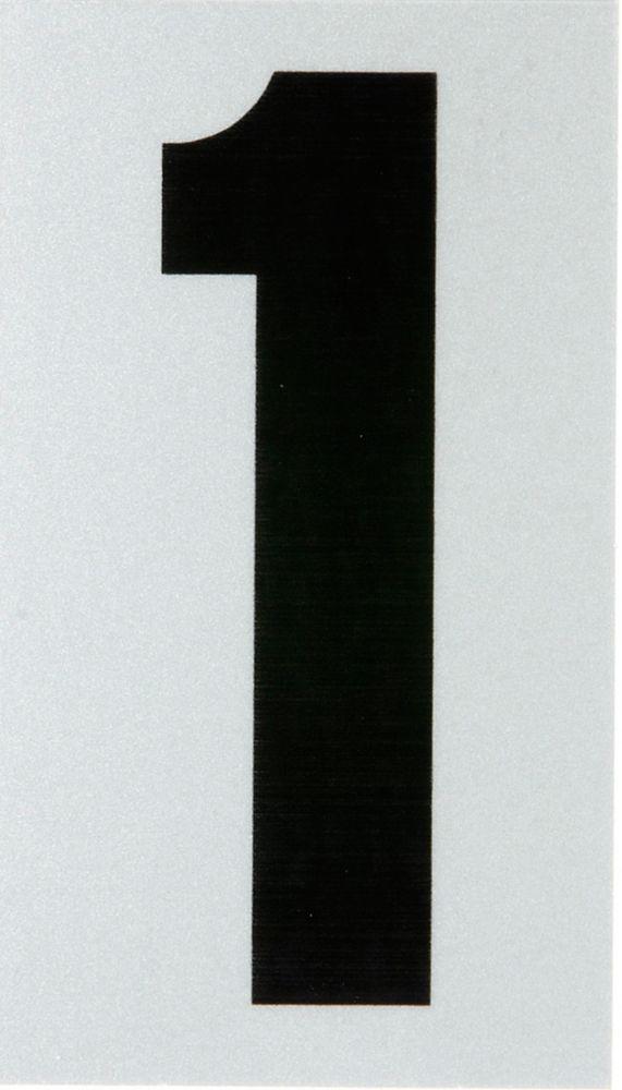 3 Inch Black & Silver Reflec Mylar 1