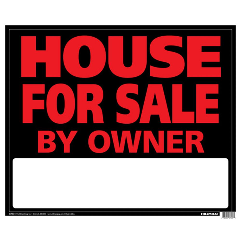 Affiche Geante 19 X 24 - House For Sale