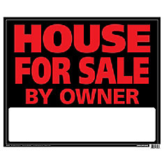 19 X 24 Jumbo Sign - House For Sale