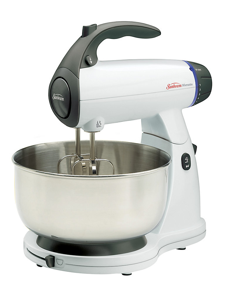 Mixmaster 4 Qt. 12 Speed Stand Mixer with Accessories (White)