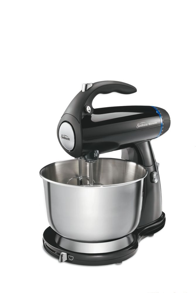 MixMaster 4 Qt. 12 Speed Stand Mixer with Accessories (Black)