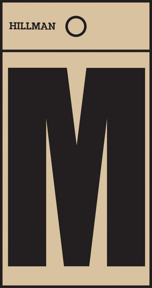 2 Inch Black & Gold Mylar Sticker M