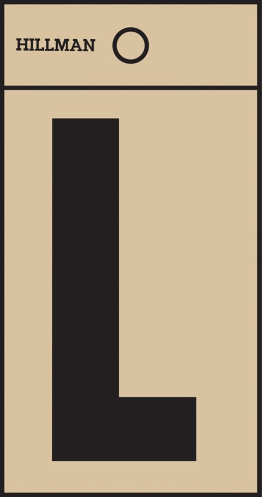 2 Inch Black & Gold Mylar Sticker L