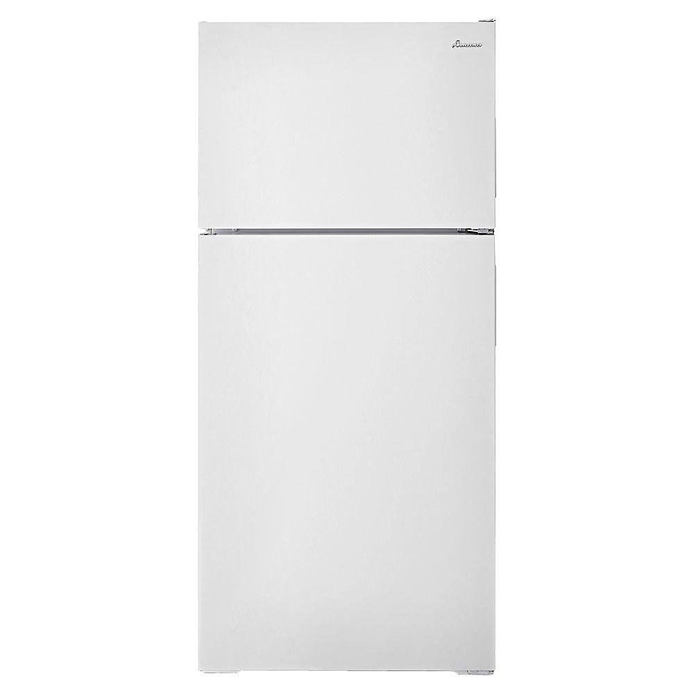 28-inch W 14 3 cu ft  Top Freezer Refrigerator in White