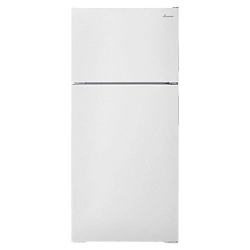 Amana 28-inch W 16 cu. ft. Top Freezer Refrigerator in White