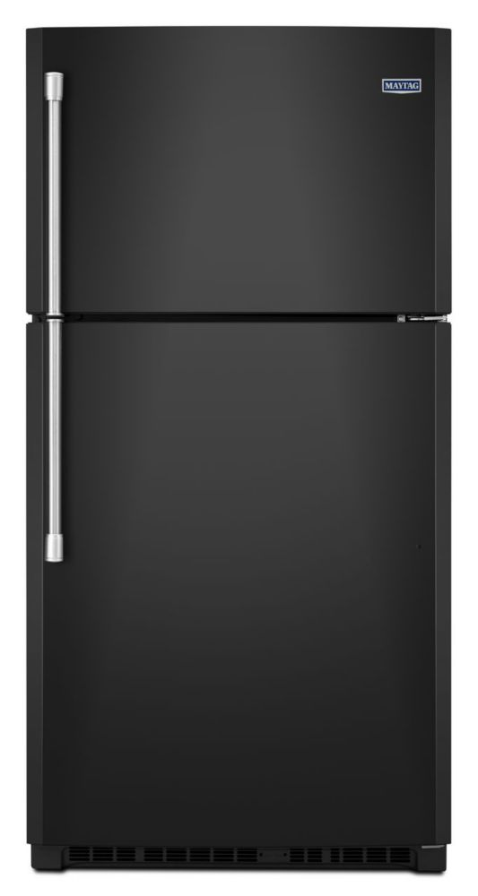 21.2 cu. ft. Top Freezer Refrigerator with Electronic Temperature Control in Black