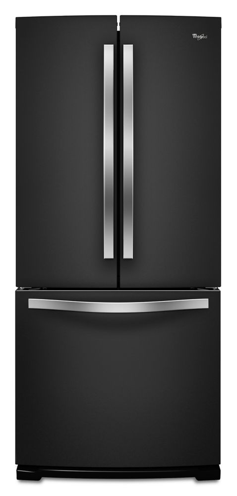 19.7 cu. ft. French Door Refrigerator with More Usable Capacity in Black
