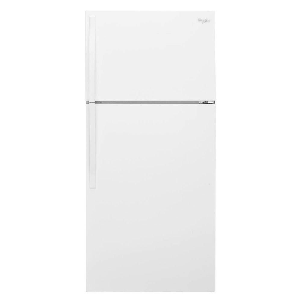 14.3 cu. ft. Top Freezer Refrigerator with Freezer Temperature Control in White