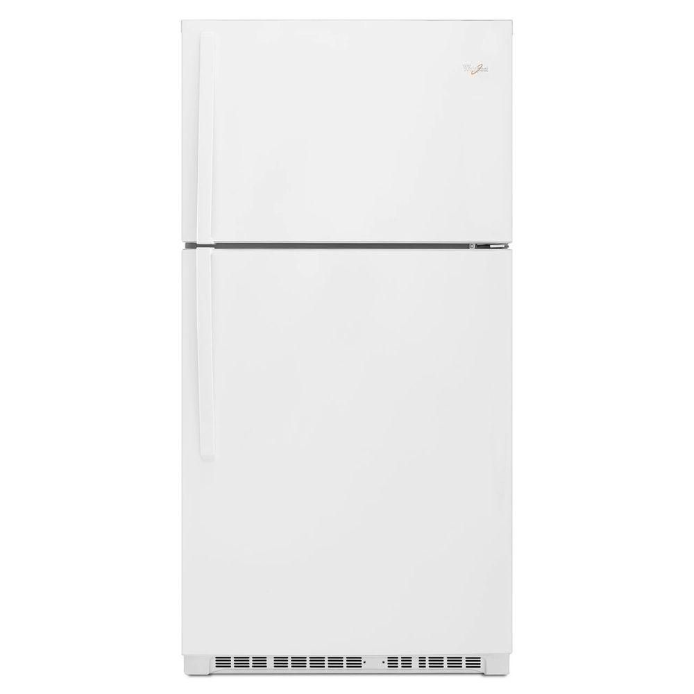 21.3 cu. ft. Top Freezer Refrigerator in White