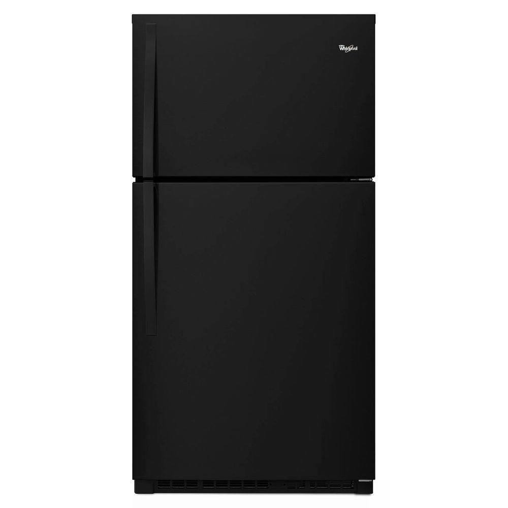 21.3 cu. ft. Top Freezer Refrigerator in Black