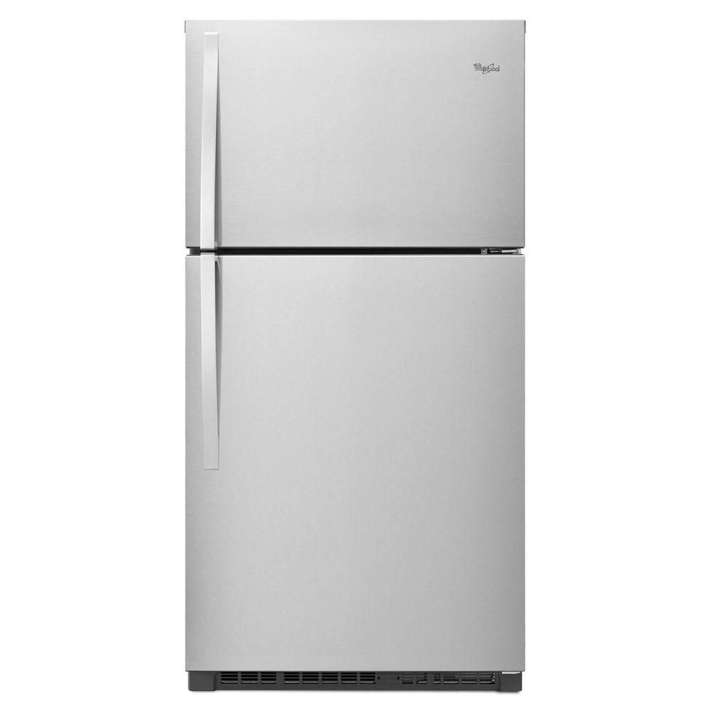 21.3 cu. ft. Top Freezer Refrigerator in Stainless Steel