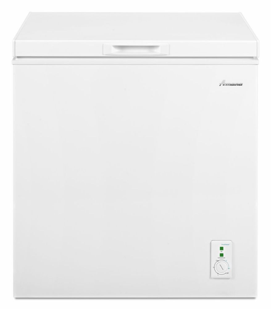 5.3 Cu. Ft. Compact Chest Freezer with Deepfreeze<sup>®</sup> Technology