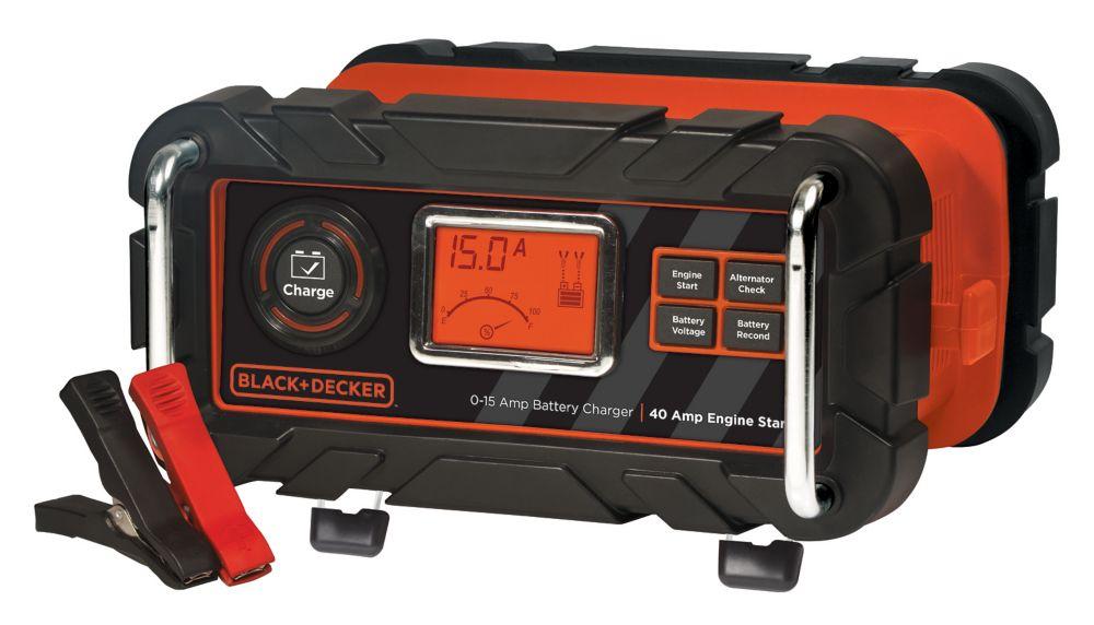 Black & Decker 15A battery charger