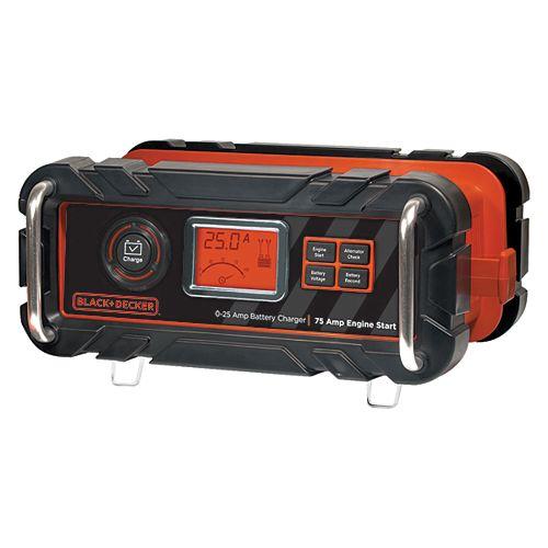 BLACK+DECKER 25A battery charger