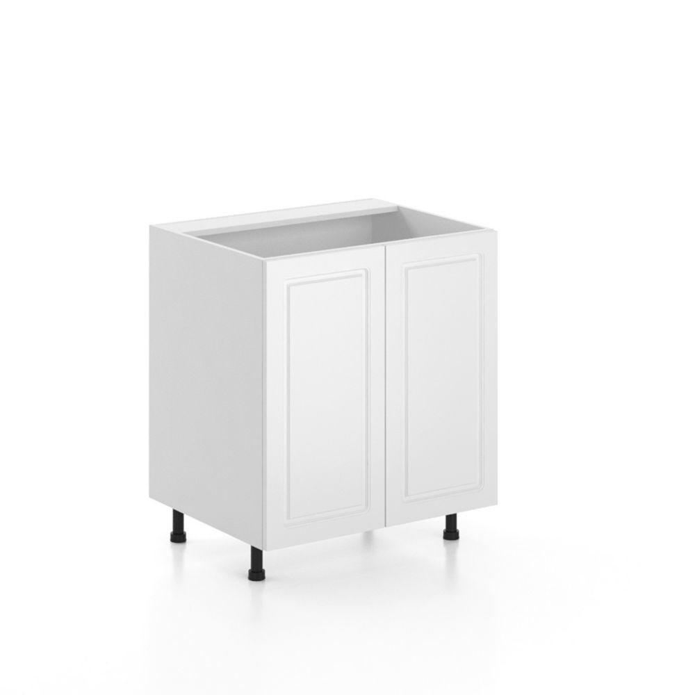 30 Inch Sink Base Cabinet - 2 Doors - Assembled - Lausanne