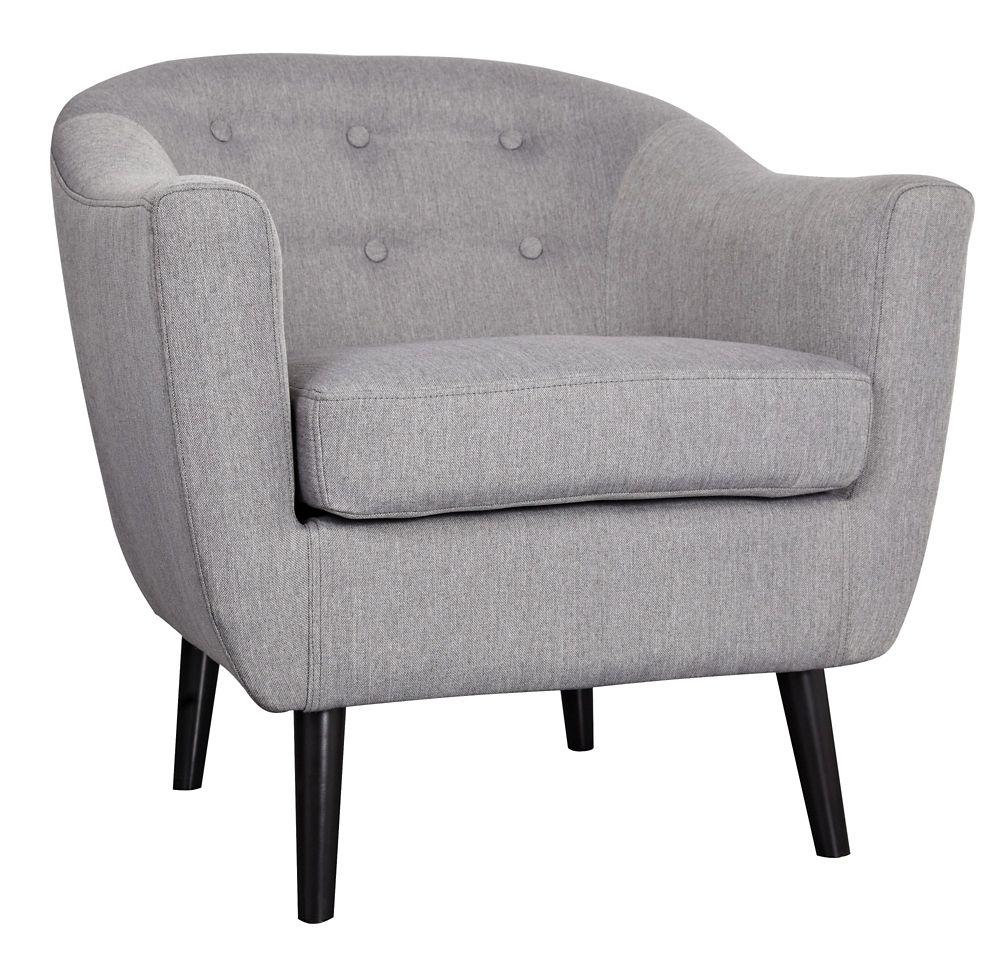 Nora-fauteuil d'appoint-gris