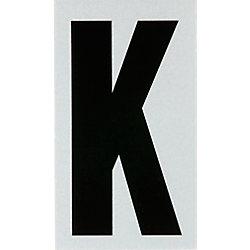Hillman 3 Inch Black & Silver Reflec Mylar K