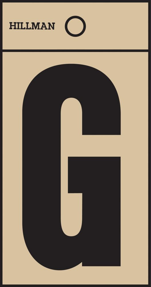 2 Inch Black & Gold Mylar Sticker G