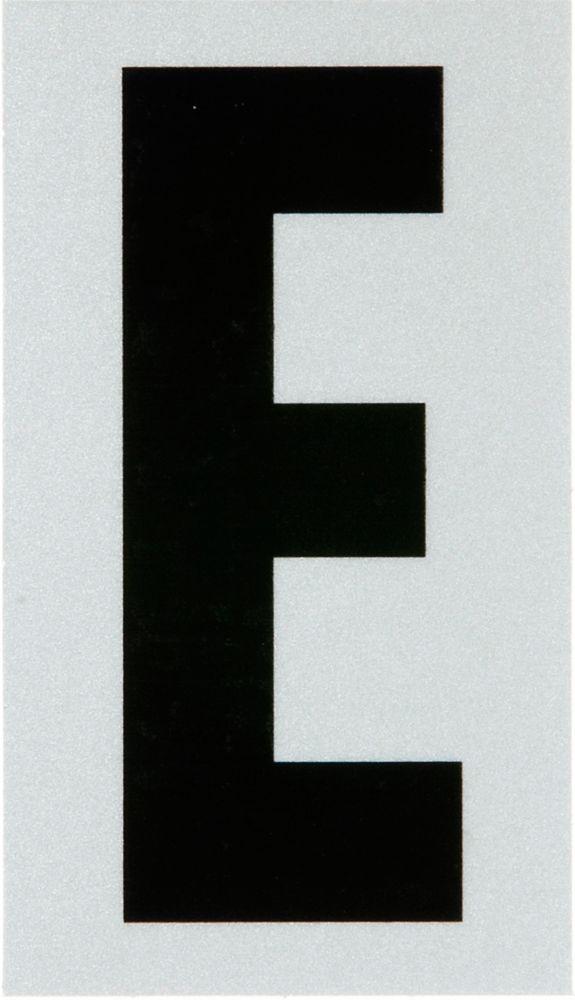 2 Inch Black & Silver Reflec Mylar E